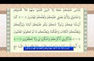 تدبر در قرآن : تدبر در آیات 151 تا 157 سوره ی بقره ( اهمیت یاد الهی در زندگی )