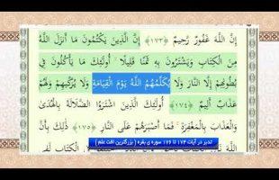تدبر در قرآن : تدبر در آیات 174 تا 176 سوره ی بقره ( بزرگترین افت علم )