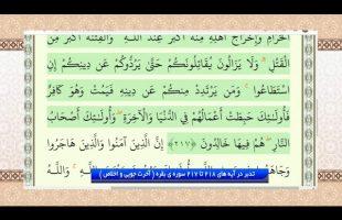 تدبر در قرآن : تدبر در آیه های 218 تا 217 سوره ی بقره ( آخرت جویی و اخلاص )