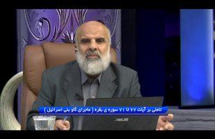 تدبر در قرآن : تاملی بر آیات 67 تا 71 سوره ی بقره ( ماجرای گاو بنی اسرائیل )