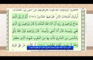 تدبر در قرآن: تدبر در آیه  258 سوره ی بقره ( ماجرای حضرت ابراهیم و نمرود )