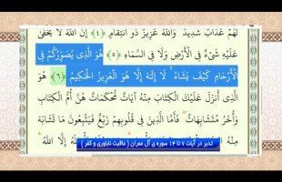 ( تدبر در قرآن: تدبر در آیات 7 تا 14 سوره ی آل عمران ( عاقبت ناباوری و کفر